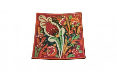 Farfurie ceramica handmade stil turcesc,