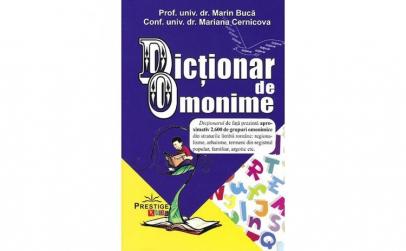 Dictionar de omonime - Marin BucaMariana