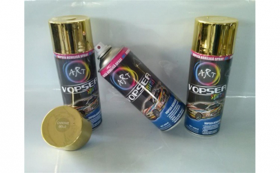 Spray vopsea crom auriu ART 400 ml