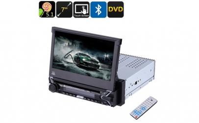 "Media Player 7"" cu touchscreen DVD  MP3"