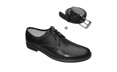 Pantofi de primavara din piele naturala