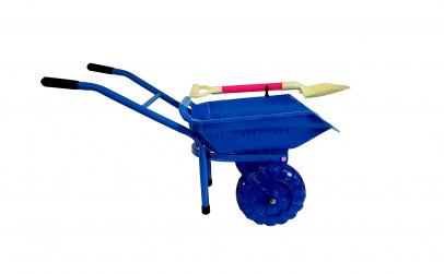 Roaba albastra 70 cm, cadru metalic