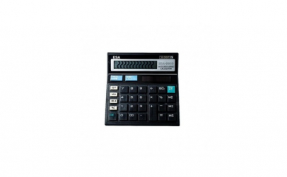 Calculator de birou, 12 Digit, negru