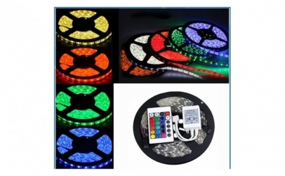 Banda RGB LED, 5 m