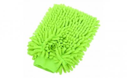 Laveta microfibra tip manusa, verde