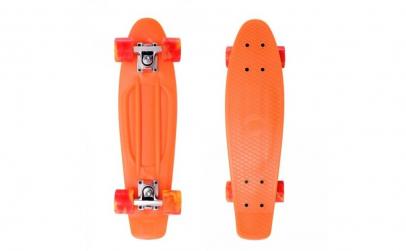 "Penny board 27"" portocaliu"