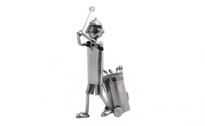 Suport metalic de sticla Golfer Homania