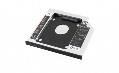 HDD Caddy laptop, grosime 9.5mm