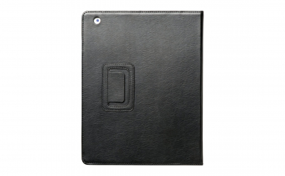Husa din piele neagra pt iPad