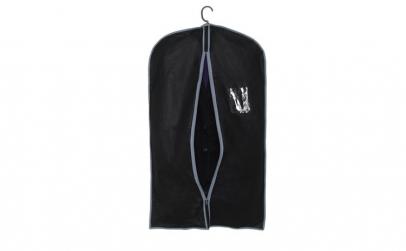 Set 5 huse pentru haine/ costum, negru,
