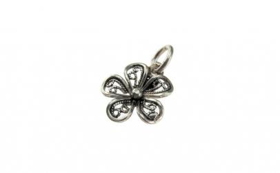 Pandantiv Argint 925 Floare Filigran +