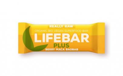 Lifebar Plus baton cu fructe  maca si