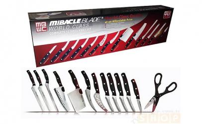 Set 13 cutite Miracle Blade World Class