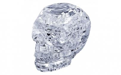 Puzzle 3D  model craniu de cristal  49