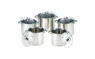 Set oale inox 10 piese + cadou polonic