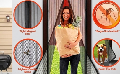 Perdea anti insecte Magic Mesh