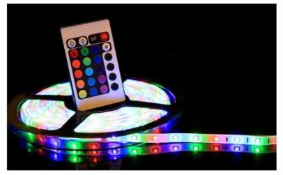 Banda RGB LED,telecomanda+joc de lumini