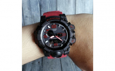 Ceas casio g-shock partial red