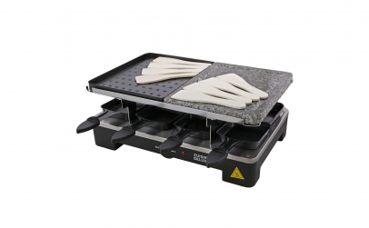 Grill gratar electric cu 8 raclette
