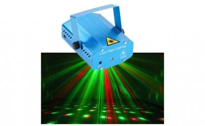 Proiector Laser lumini disco cu senzor