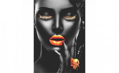 Tablou Canvas Gold Passion 60 x 90 cm,