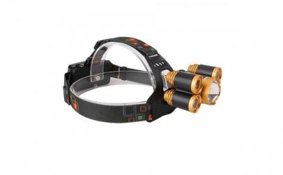 Lanterna frontala cu 5 LED-uri