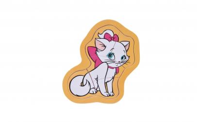 Puzzle din lemn pentru copii pisica