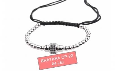 Bratara barbati / unisex - Silver