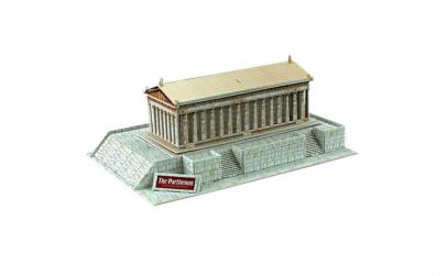 Puzzle 3D  model Parthenon  25 piese