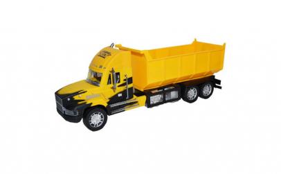 Camion cu Remorca Galben