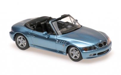 BMW Z3 - 1997 - BLUE  - MAXICHAMPS 1:43