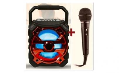 Boxa portabila bluetooth + microfon