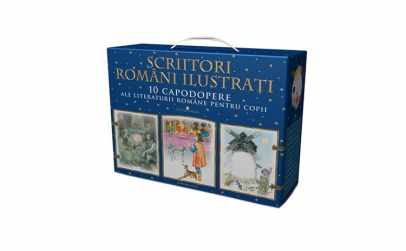 Scriitori romani ilustrati. Box 1 ( 10