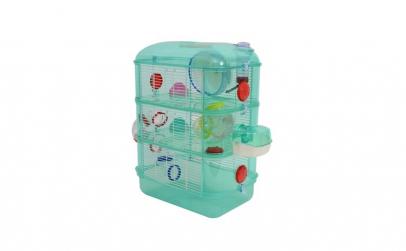 Cusca animale mici-hamsteri cu accesorii