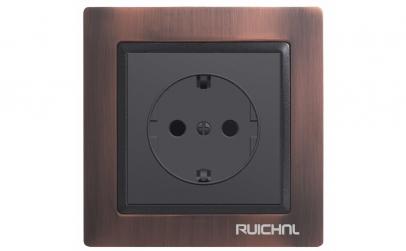 Priza simpla Ruichnl RC-3511 neagra