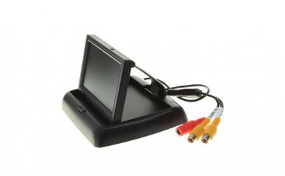 Monitor pliabil TFT LCD pentru mersul