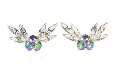 Cercei Xirius Angel, Multicolor, Argint