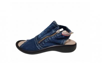 Sandale casual de blugi femei-106