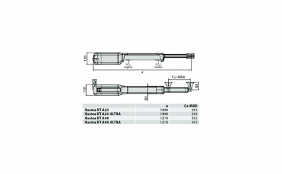 Kit BFT Kustos Ultra BT A25 - automatiza