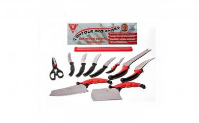 Set 11 cutite bucatarie Pro Knives