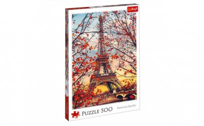 Puzzle  model turnul eiffel toamna  500