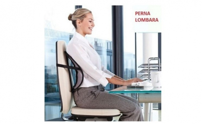 2 x Perna suport lombar pentru scaun