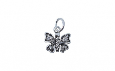 Pandantiv Argint 925, Rodiat, Fluture