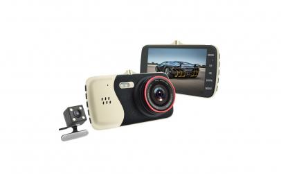Camera auto Dubla 170 Grade Full HD