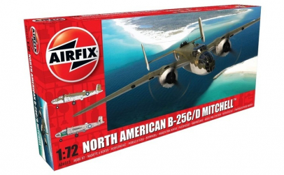 1:72 North American B25B Mitchell 1:72