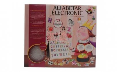 Joc interactiv alfabetar electronic cu