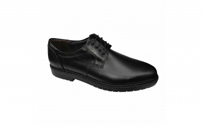 Pantofi din piele naturala negri 39-46