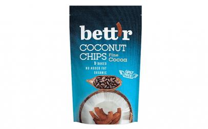 Chips de cocos bio cu cacao 70g