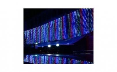 Instalatie ploaie de lumini, 3m x 1m