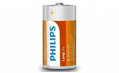 Baterii Philips LongLife C 2 blister
